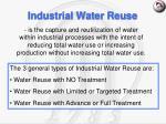 industrial water reuse