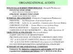 organizational audits