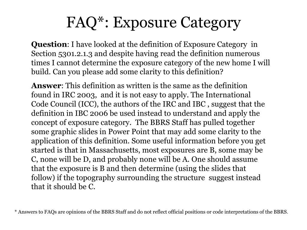 FAQ*: