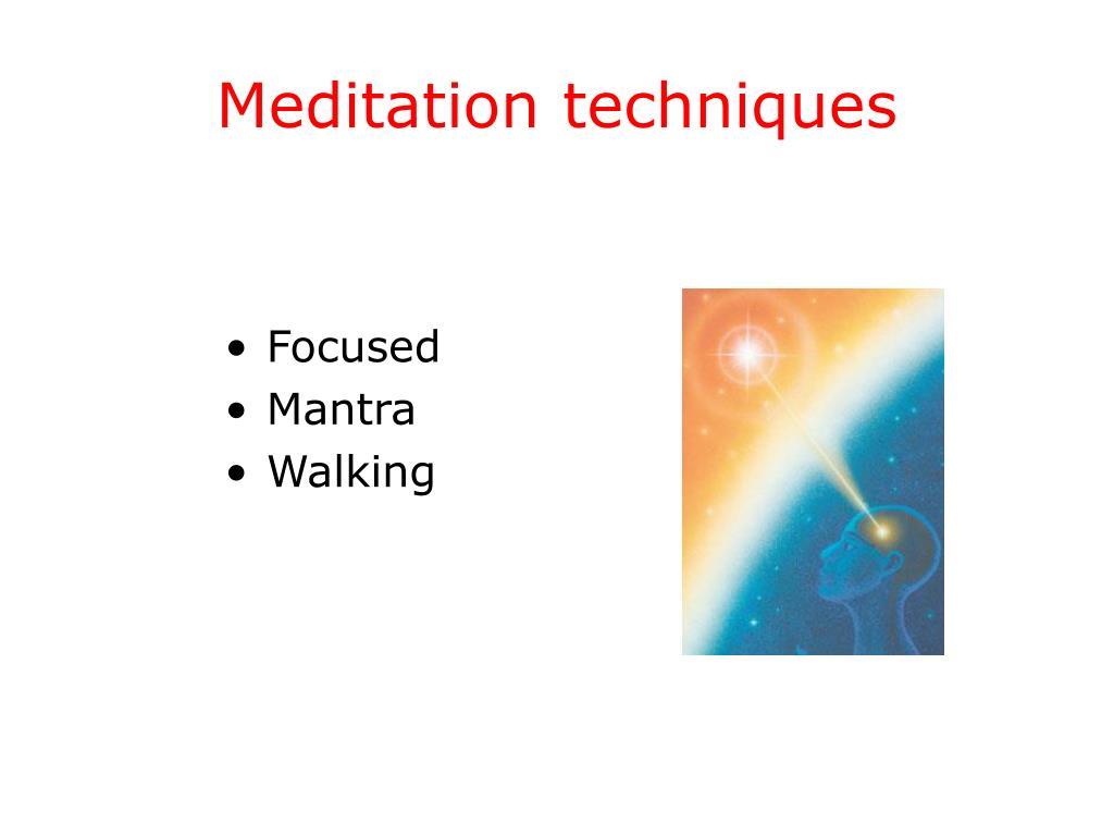 Meditationtechniques