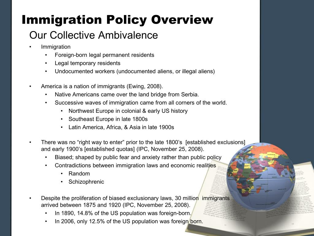 Immigration Policy Overview