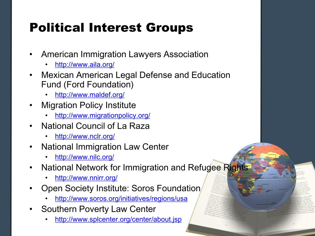 Political Interest Groups