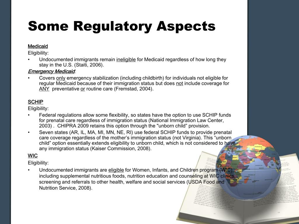 Some Regulatory Aspects