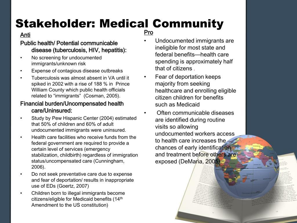 Stakeholder: Medical Community