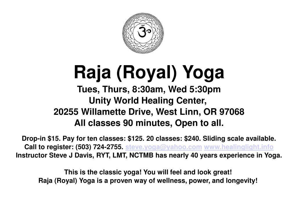 Raja (Royal) Yoga