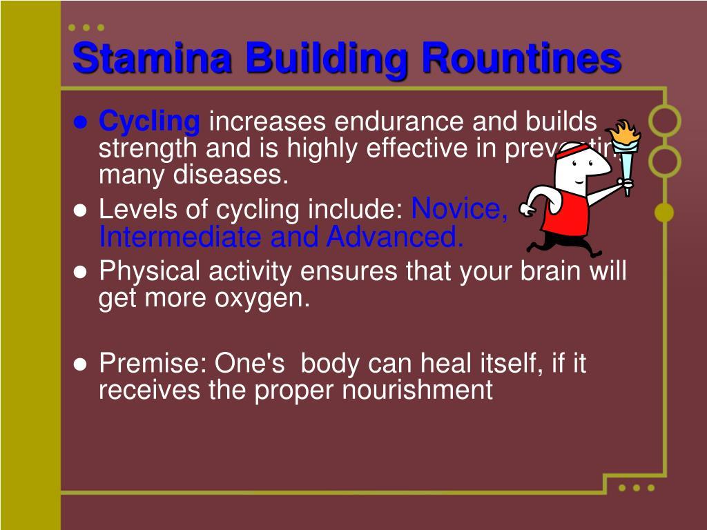 Stamina Building Rountines