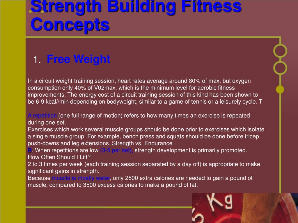 Strength Building Fitness Concepts