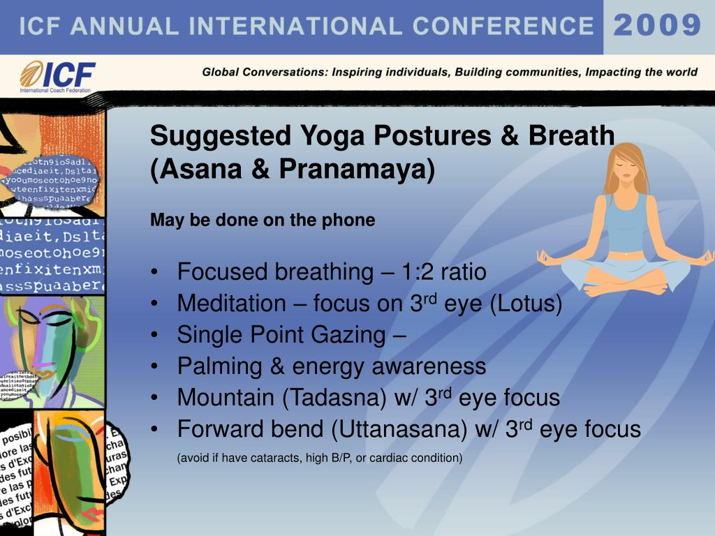 Suggested Yoga Postures & Breath
