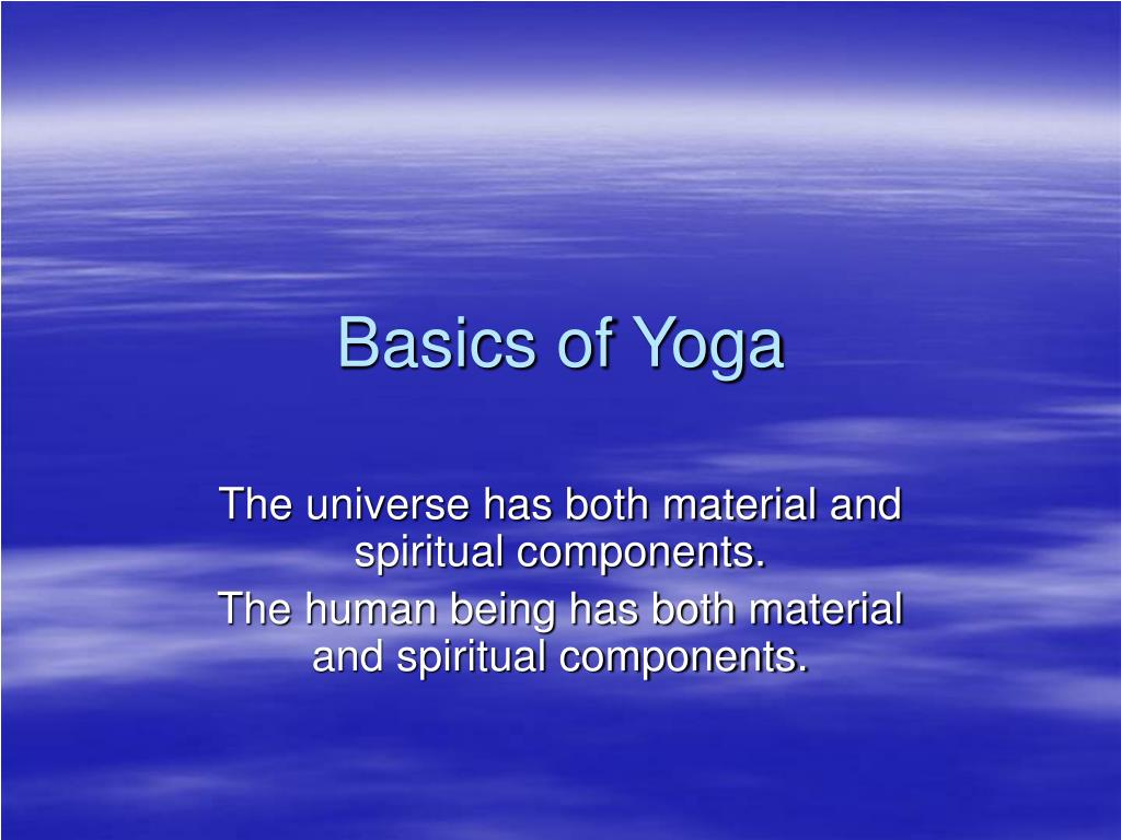 Basics of Yoga