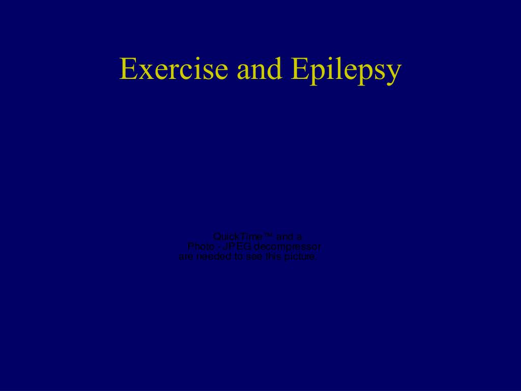 Exercise and Epilepsy