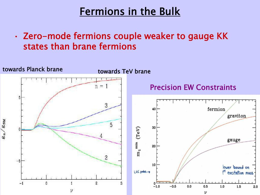 Fermions in the Bulk