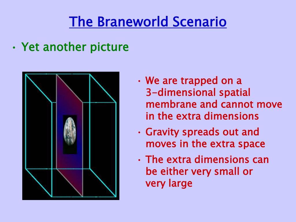 The Braneworld Scenario