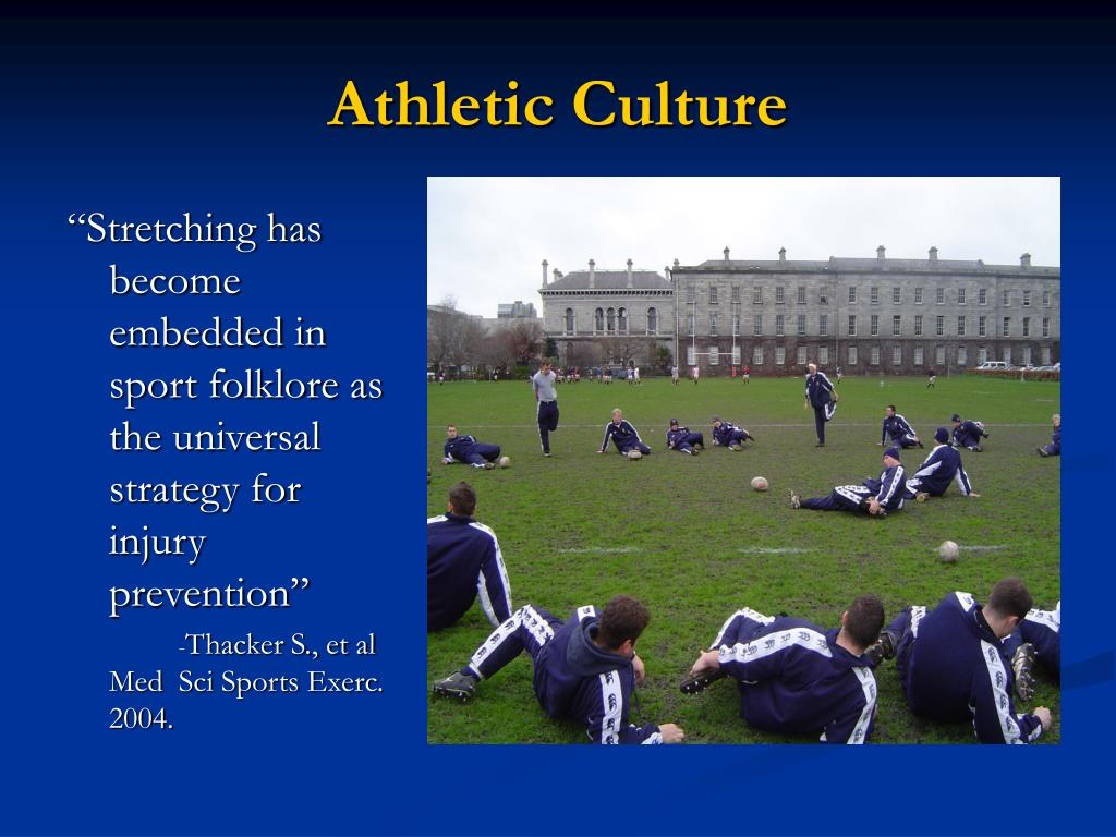 Athletic Culture