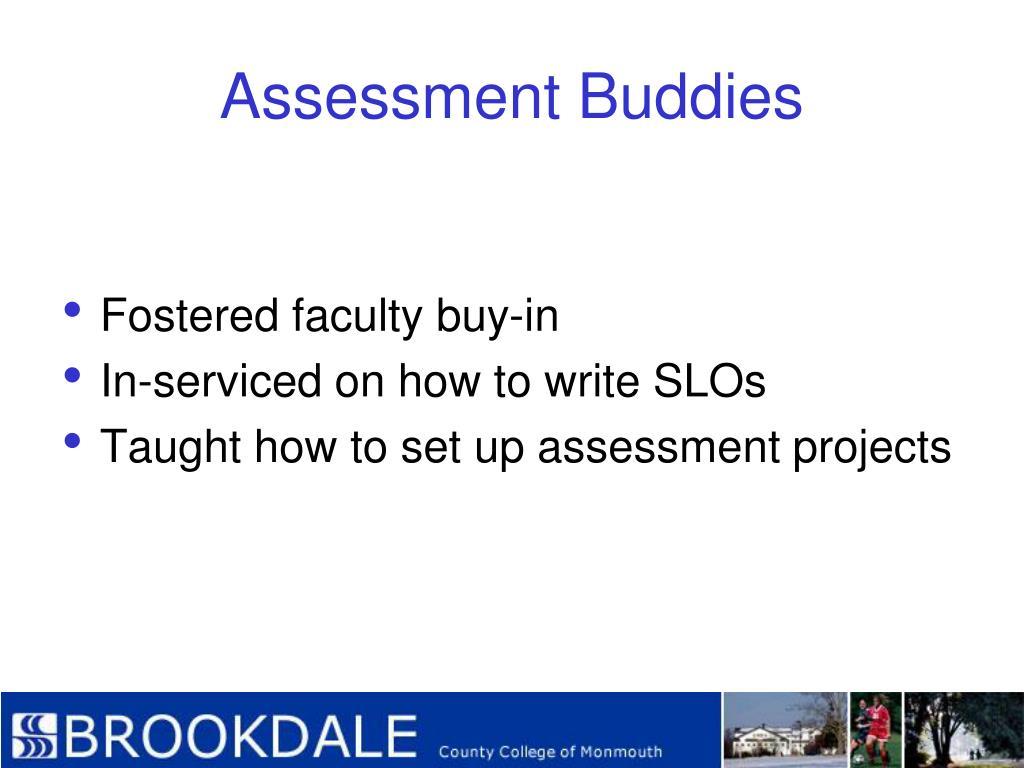 Assessment Buddies