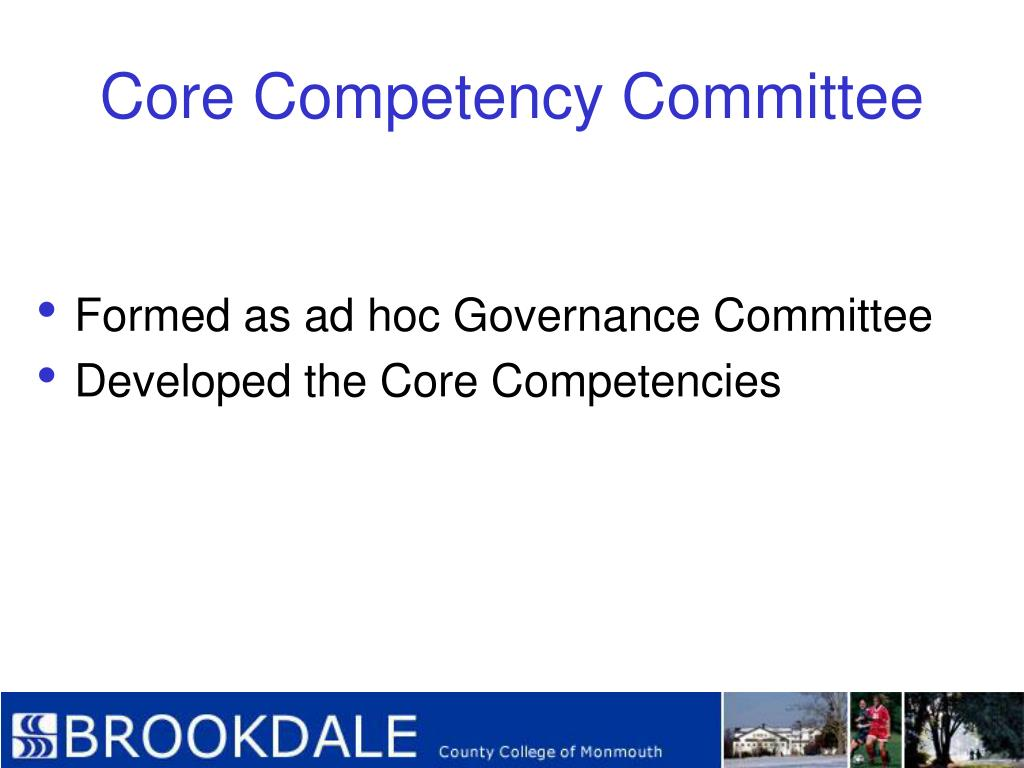 Core Competency Committee