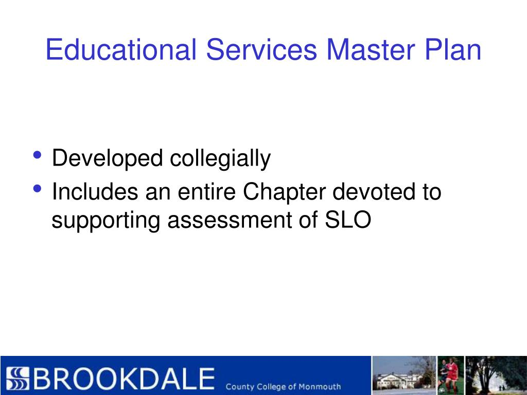 Educational Services Master Plan