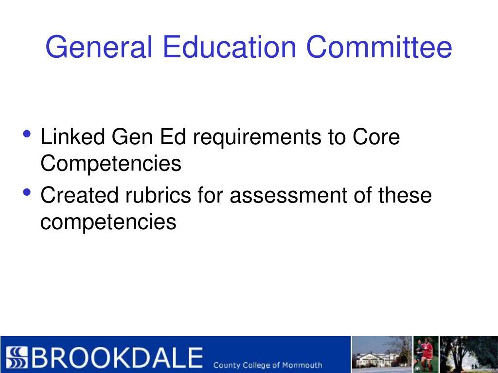 General Education Committee