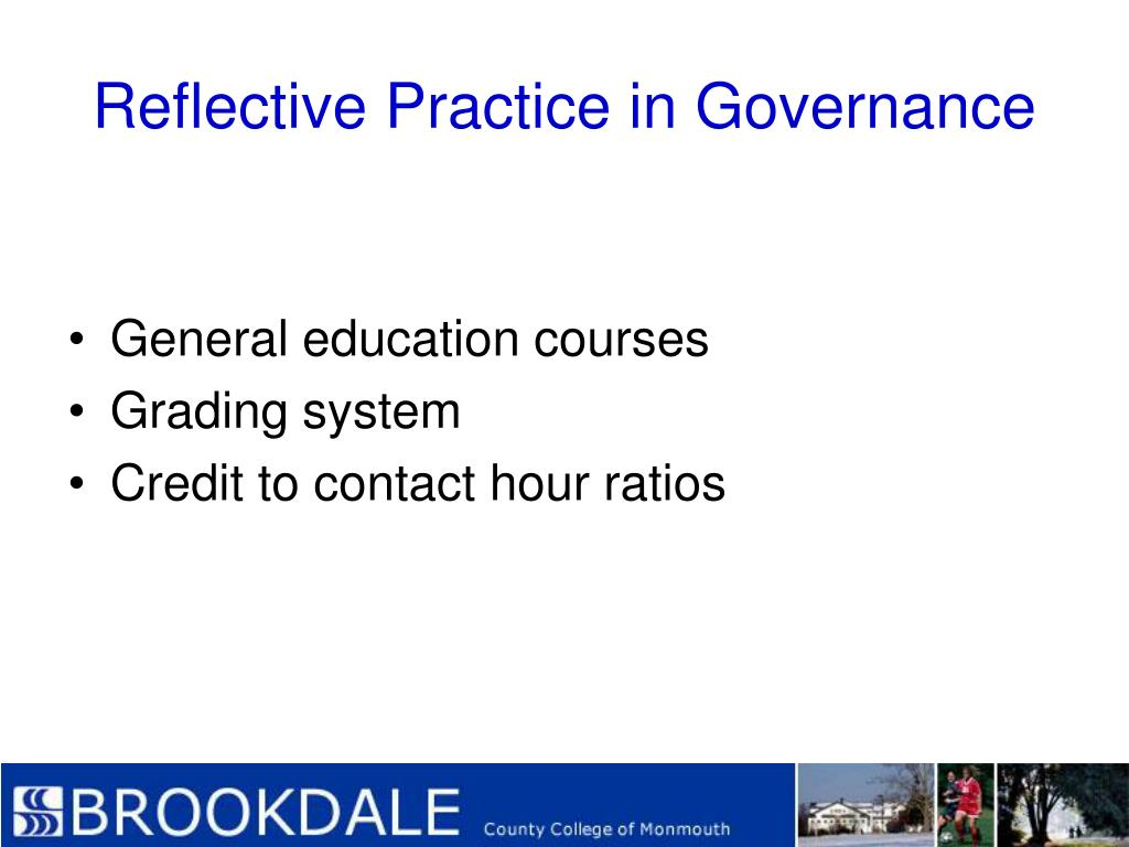 Reflective Practice in Governance
