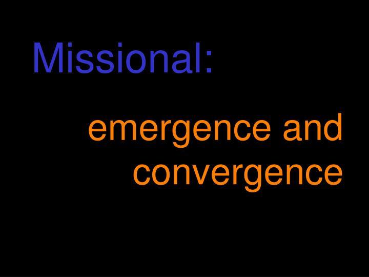 Missional: