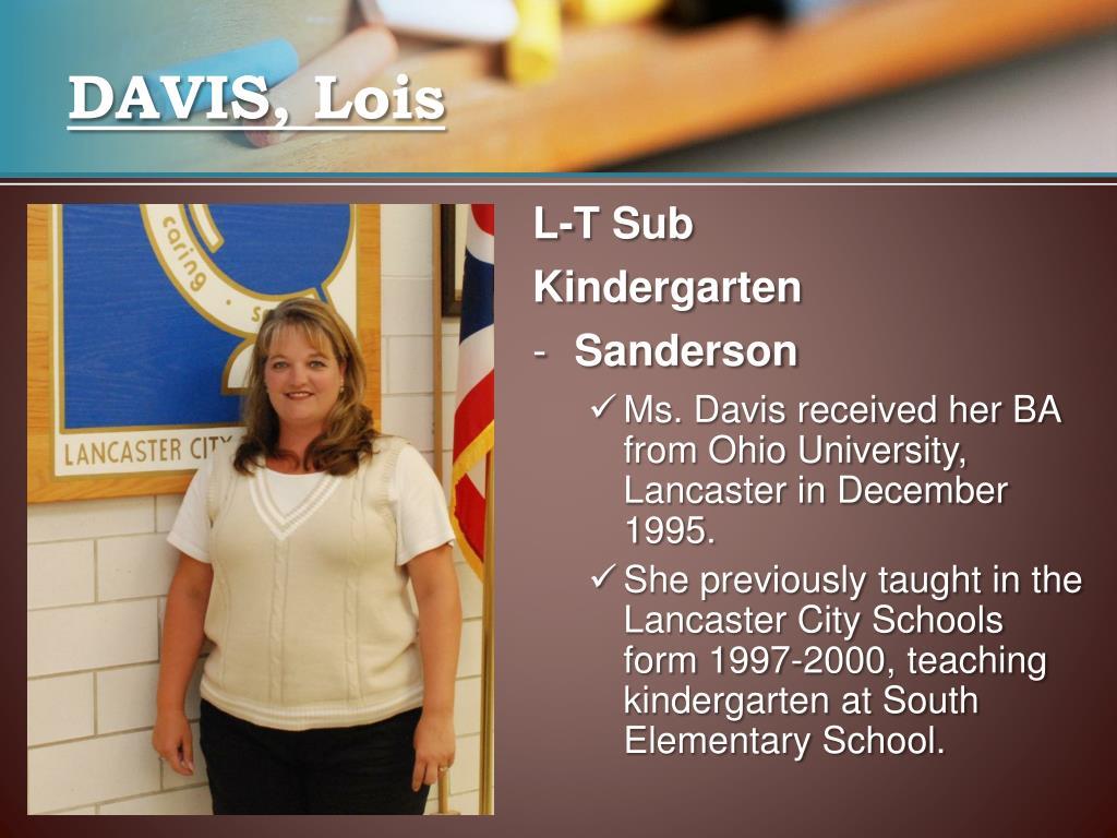 DAVIS, Lois