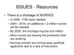issues resources10