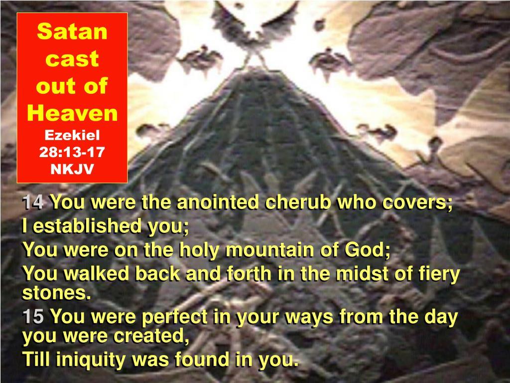 Satan cast out of Heaven
