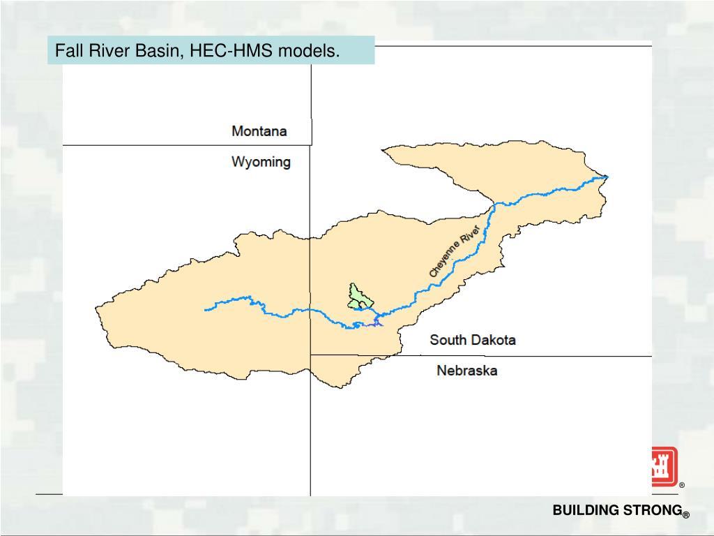 Fall River Basin, HEC-HMS models.