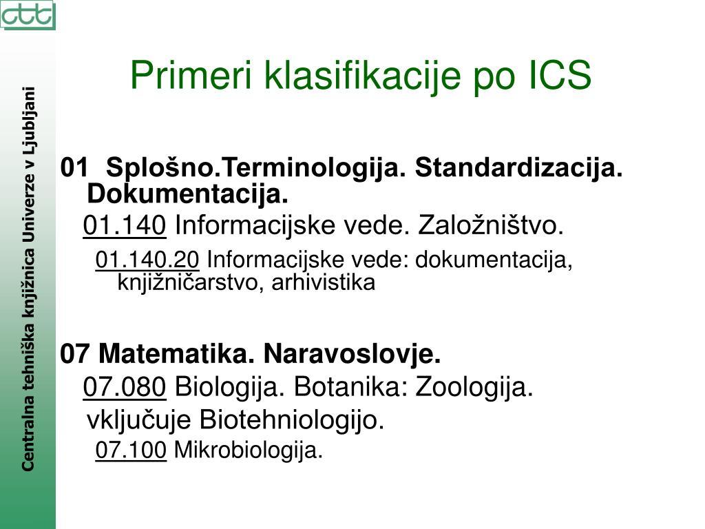 01  Splošno.Terminologija. Standardizacija. Dokumentacija.
