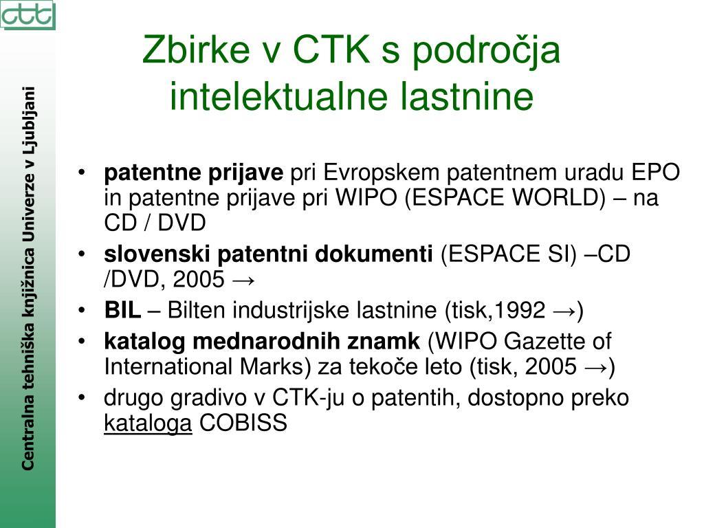 patentne prijave