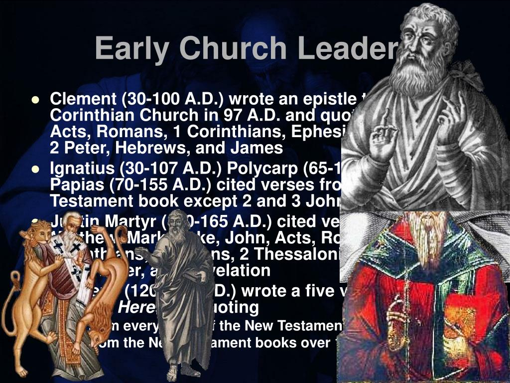 Early Church Leaders