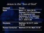 jesus is the son of god18