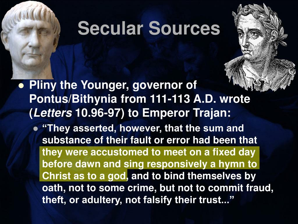 Secular Sources
