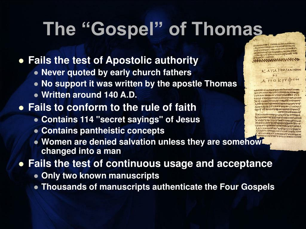 "The ""Gospel"" of Thomas"