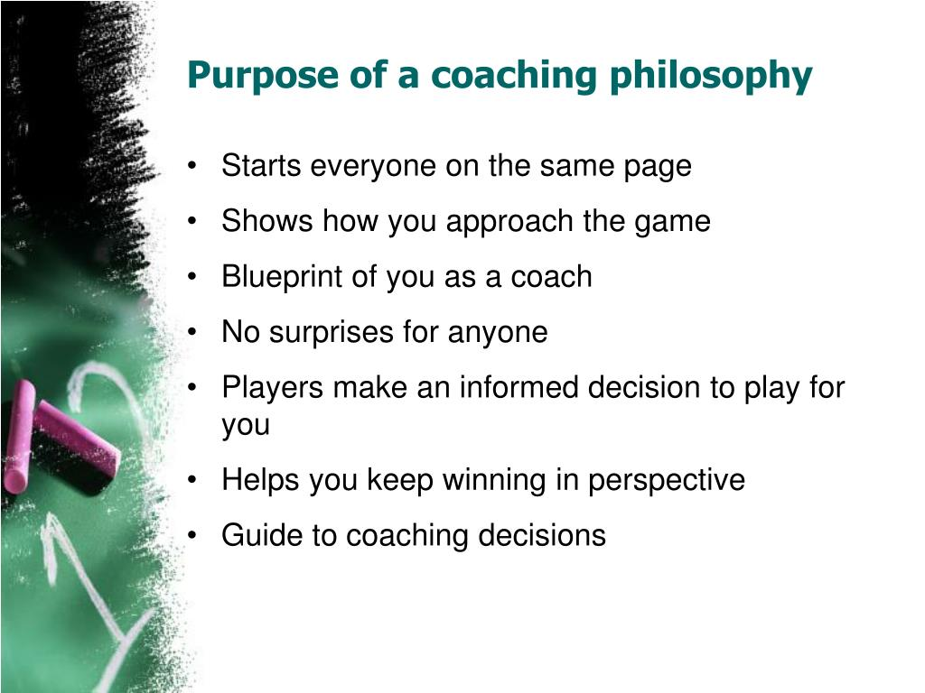 coaching philosophy Our coaching philosophy teaching the tottenham hotspur way by becoming an official youth team partner, not only will this give you the opportunity to associate your club with a global.