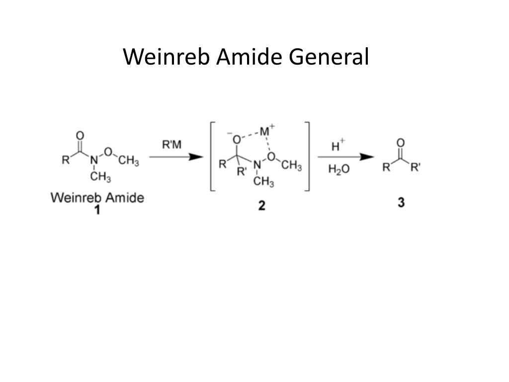 Weinreb Amide General