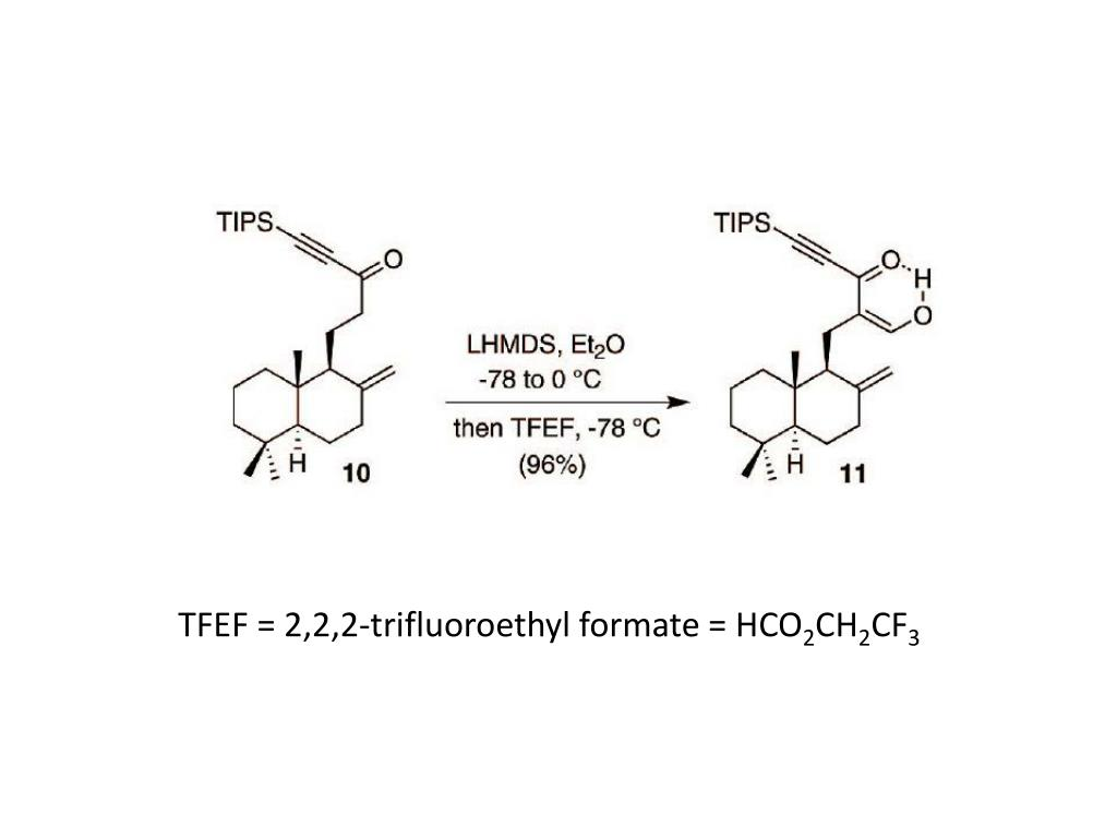 TFEF = 2,2,2-trifluoroethyl formate = HCO