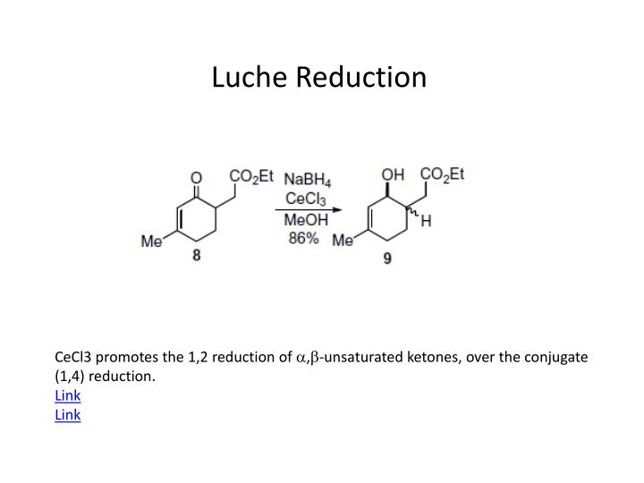 Luche Reduction
