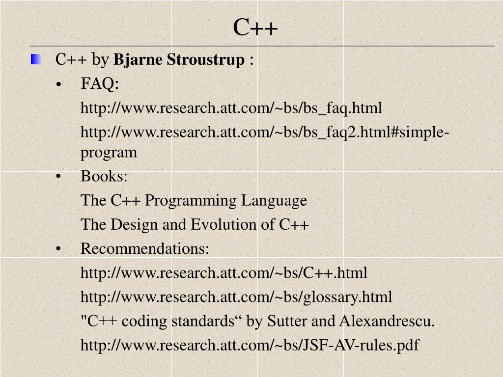 C++ by