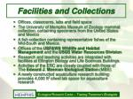 facilities and collections