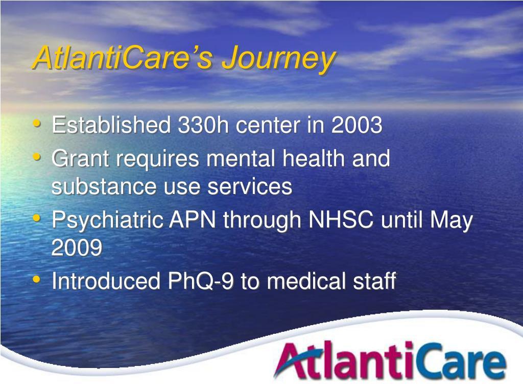 AtlantiCare's Journey