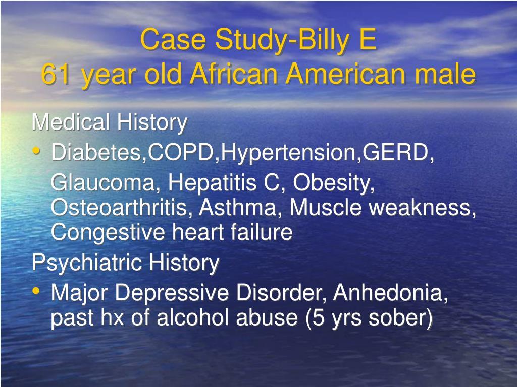 Case Study-Billy E