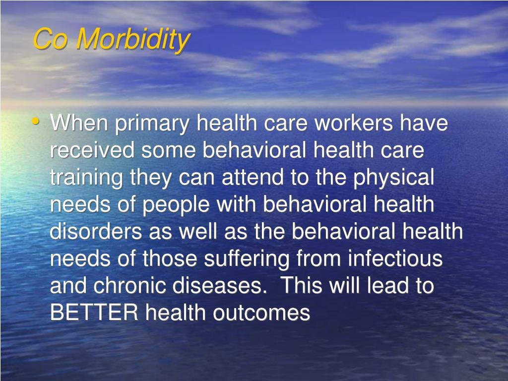 Co Morbidity