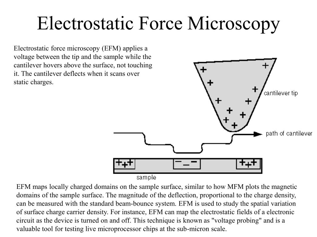 Electrostatic Force Microscopy