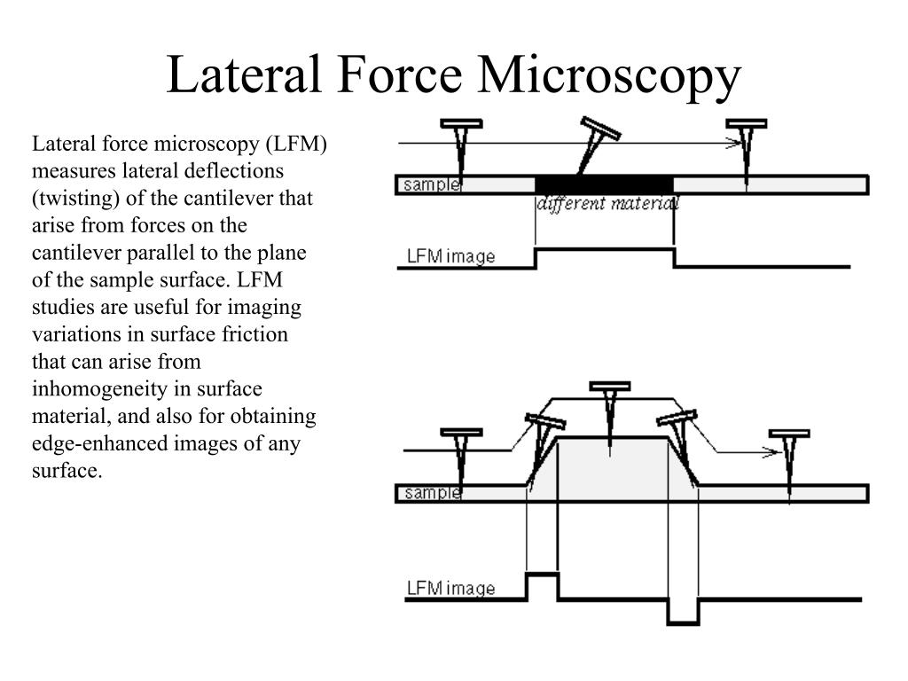 Lateral Force Microscopy