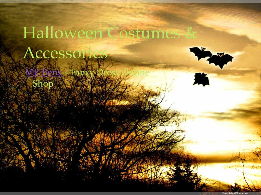 Halloween Costumes & Accessories