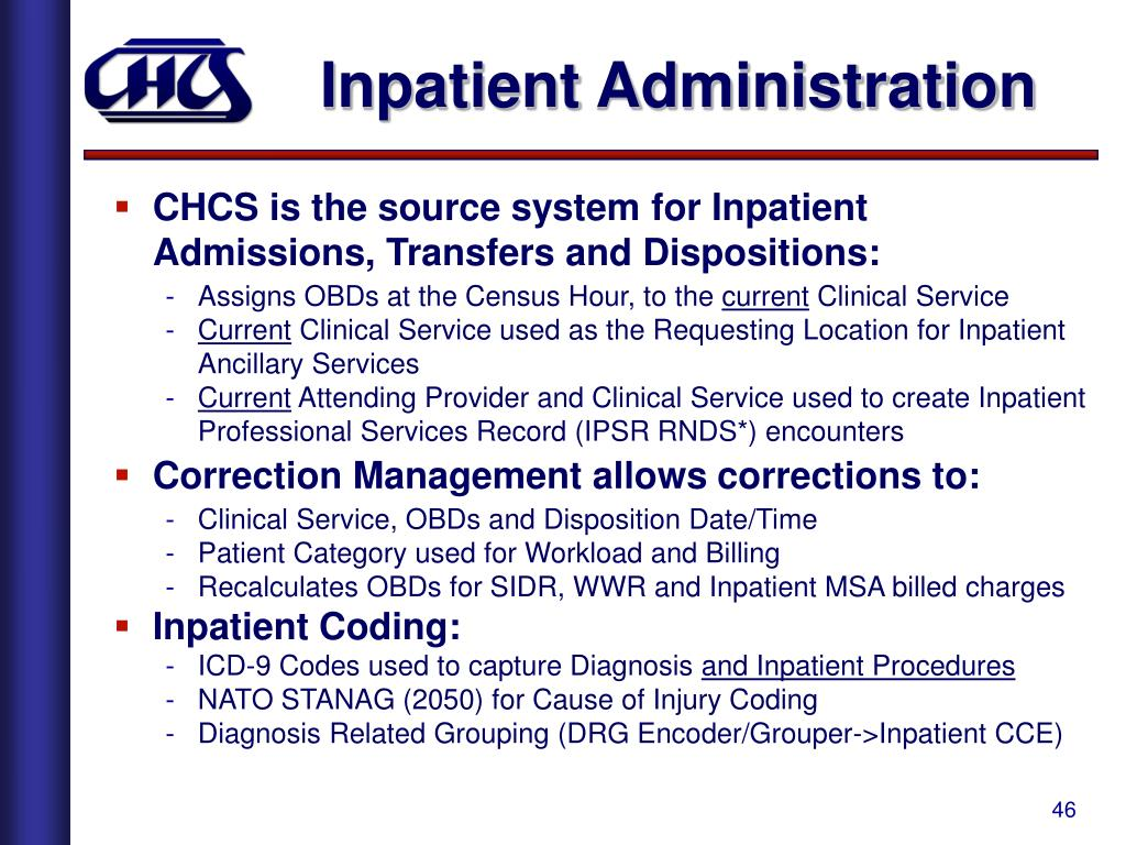 Inpatient Administration