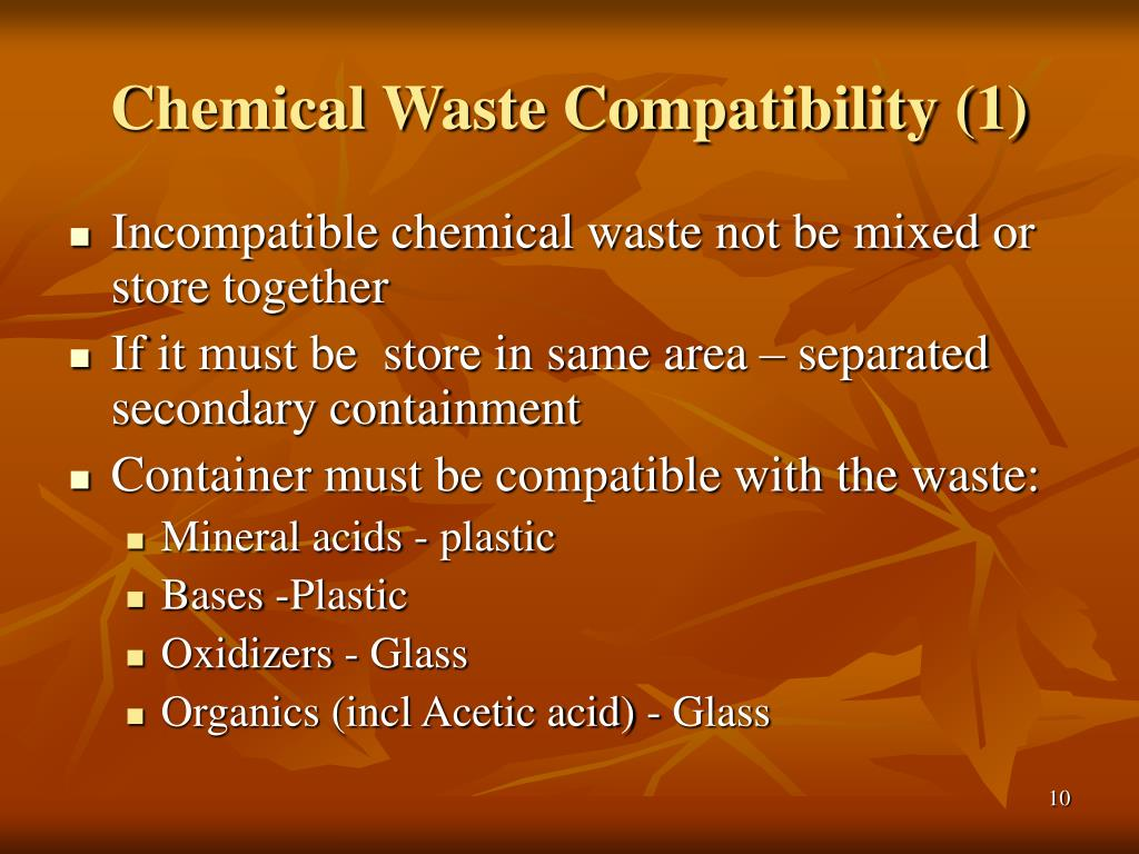 Chemical Waste Compatibility (1)