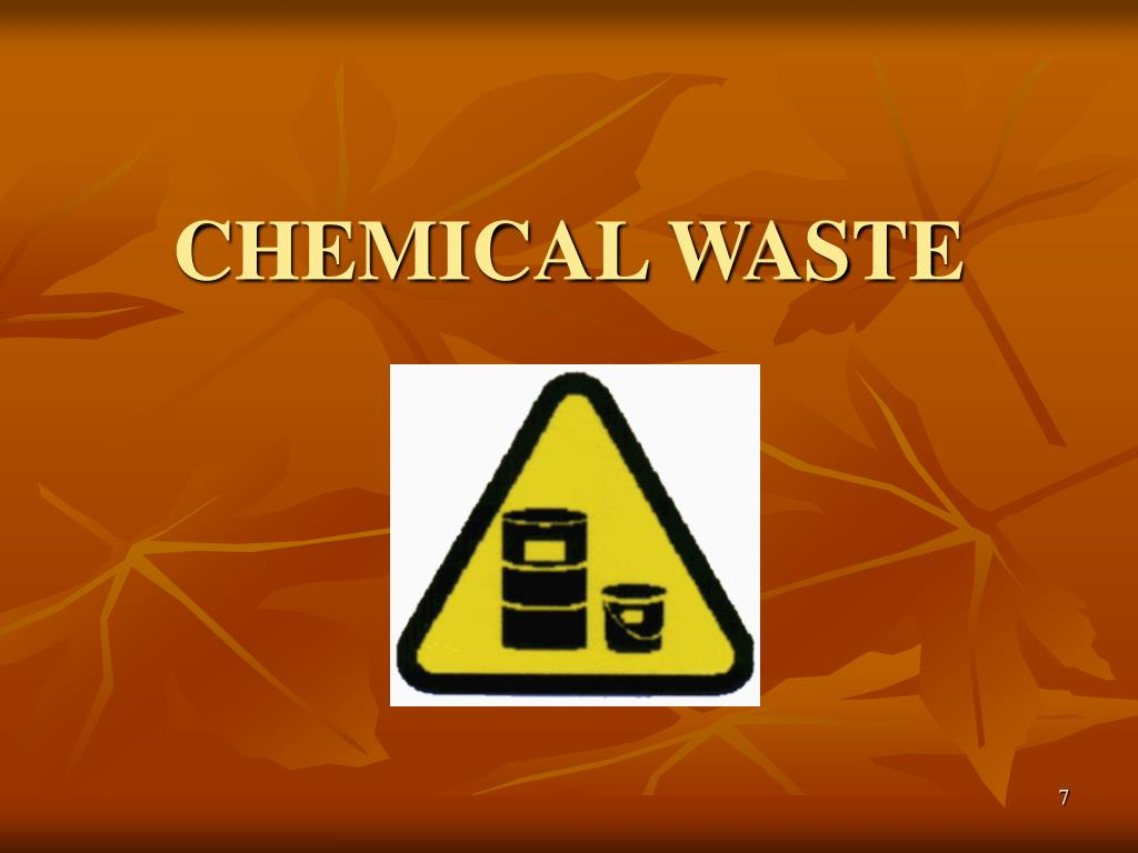 CHEMICAL WASTE