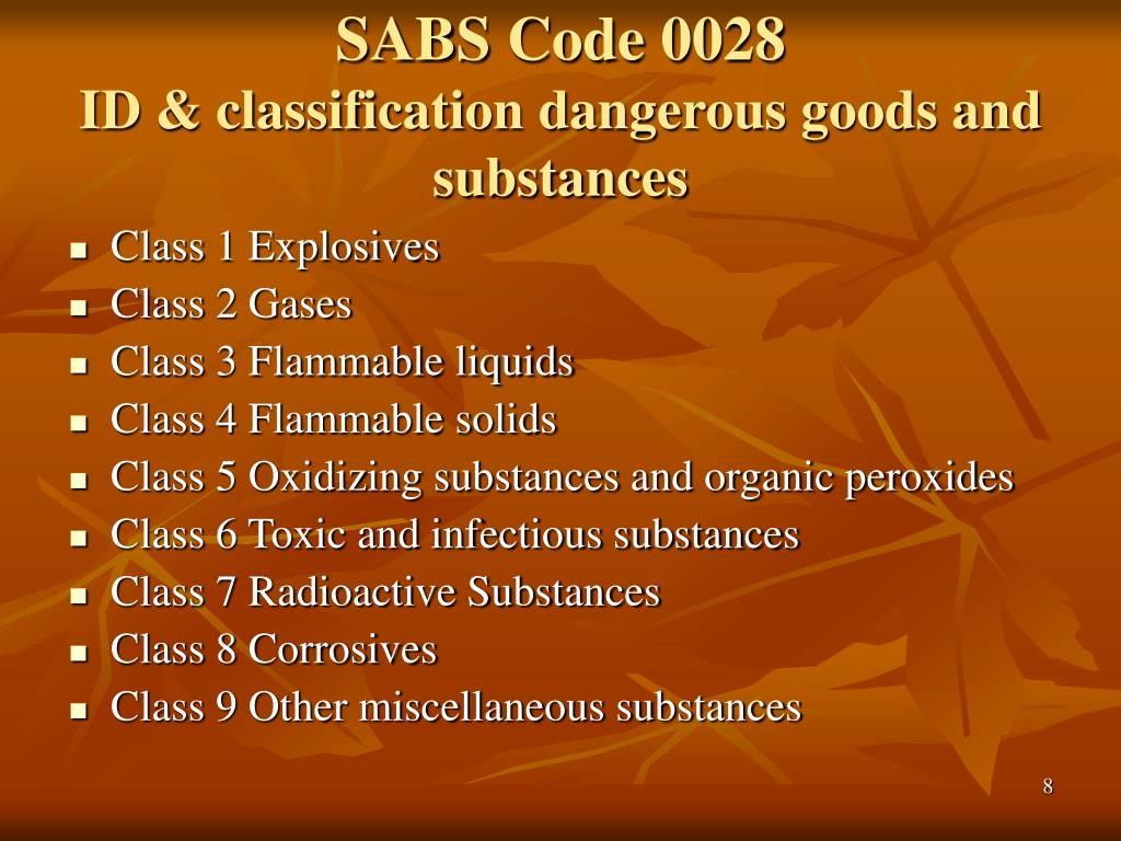 SABS Code 0028