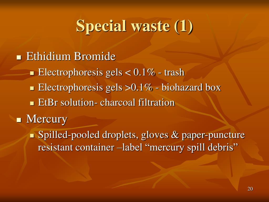 Special waste (1)